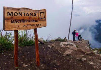 Montaña Machupicchu